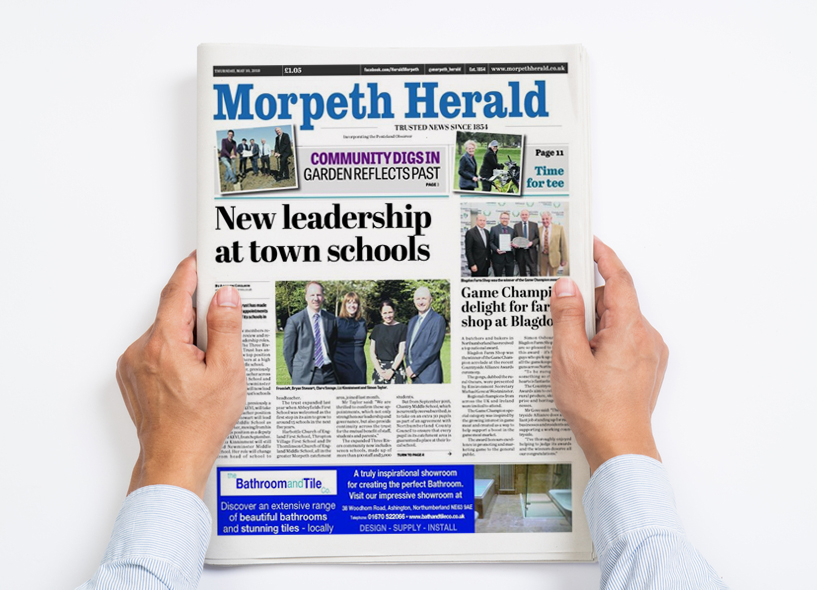 Morpeth Herald Cover