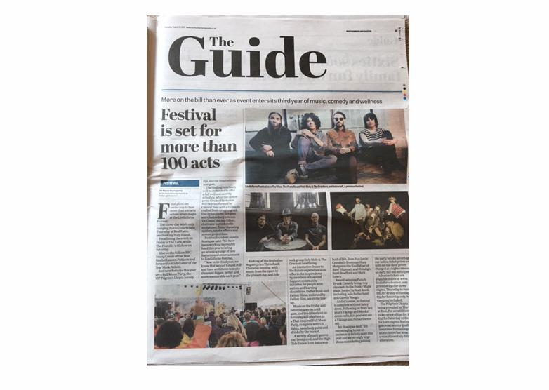Lindisfarne Festival Article